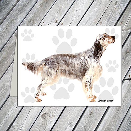 English Setter Note Cards