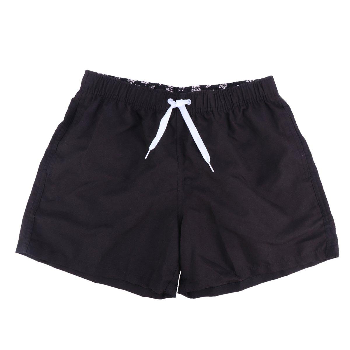 Clispeed Pantaloncini da Spiaggia da Uomo - Costume da Bagno Sportivo da Esterno con Tasca da Surf - Taglia XXL (Sky Blue)