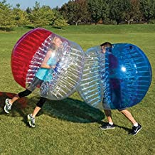 BubbleU24(TM) 2 Bubble Balls Package for Bubble Soccer Football Zorb Inflatable Bumper Ball Game Adult Size 5'