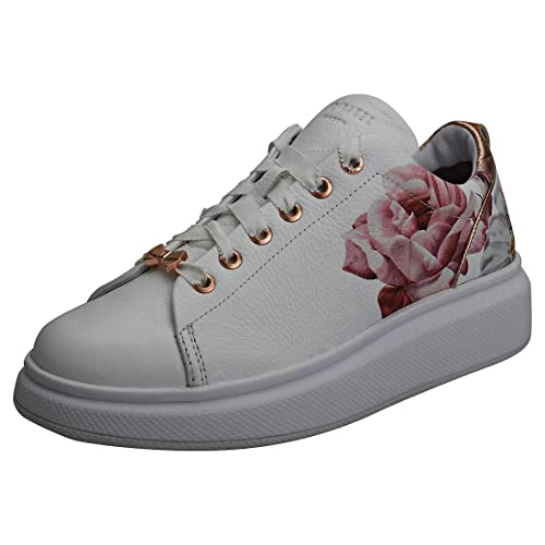 01cc6d48c9ea5 Ted Baker Ailbe 2 Trainers White  Amazon.co.uk  Shoes   Bags