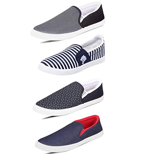Canvas Combo Of 4 Casual Shoes