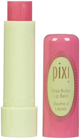 Pixi Bálsamo Labial Para Manteca De Karité Color Rosa Pixi 0 134 Onzas Beauty