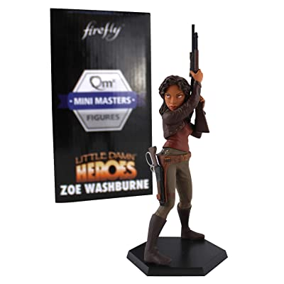 Firefly Little Damn Heroes Figure -Zoe Washburne: Toys & Games