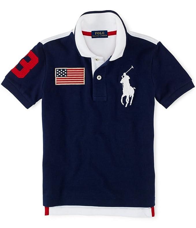 Ralph Lauren Big Pony Polo para Hombre de Malla niños algodón (L ...