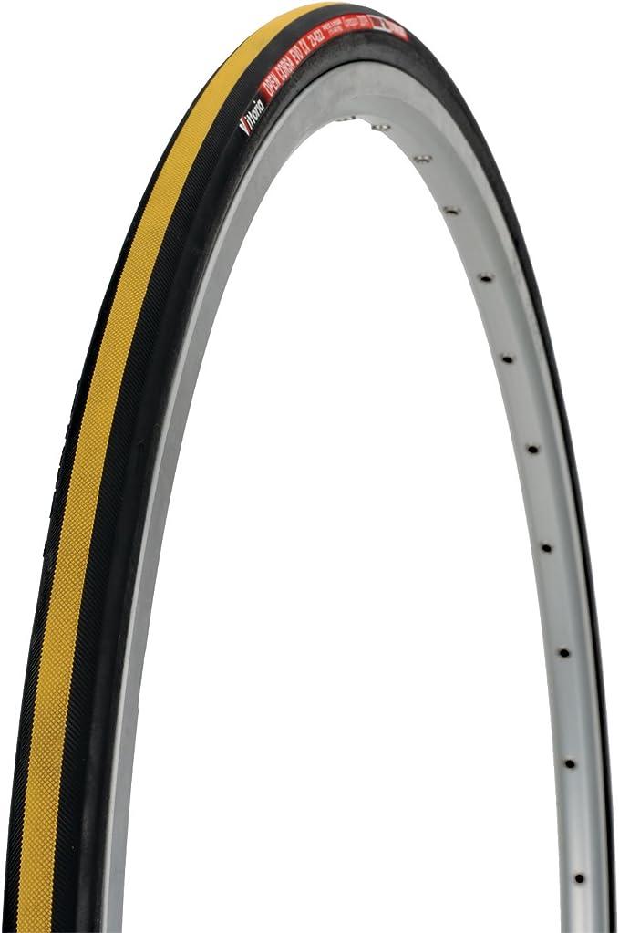 Cubierta 700x23 Plegable Vittoria Corsa - CX Amarillo: Amazon.es: Deportes y aire libre