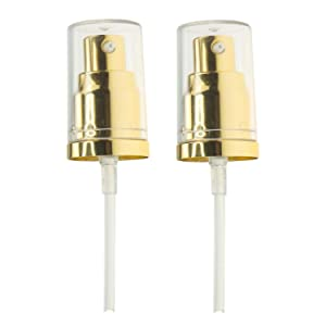 Chris.W 2Pack Foundation Pump for Estee Lauder Double Wear Foundation(Gold)