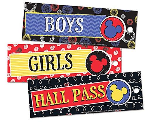 Eureka Mickey Color Pop! Hall Passes