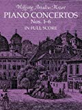 Piano Concertos Nos. 1-6 in Full Score (Dover Music Scores)