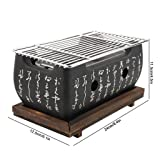 BBQ Charcoal Grill by ALZERO, Japanese Cuisine