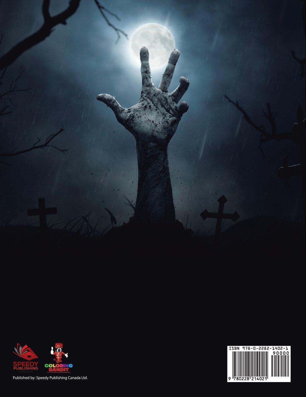 Hallows Eve Adulto Da Colorare Libro Halloween Edition