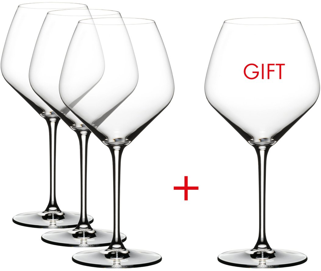 Riedel Extreme Crystal Pinot Noir Wine Glass, Buy 3 Get 4 Glasses by Riedel (Image #2)