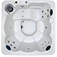 Hudson Bay 6 Person 19 Jet Spa with Stainless Jets and 110V GFCI Cord Included.