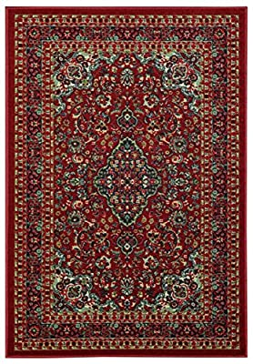 Maxy Home Hamam Collection Rubber Back Traditional3 Area Rugs