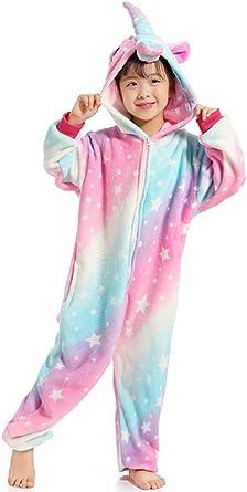 Z-Chen Disfraz Pijamas Animal para Niño Niña Disfraz Halloween ...