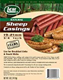 LEM Products 243 5 oz. Vacuum Sealed Bag- Sheep Casings for 15 lbs