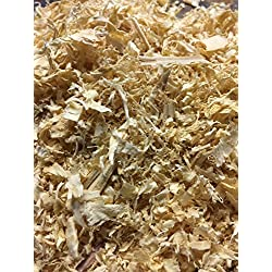 BULK Pine Shavings, (25lbs) Pet Bedding, All Natural Pine Bedding, Wood Shavings for Livestock, Made in USA, by Crossroad Sales LLC