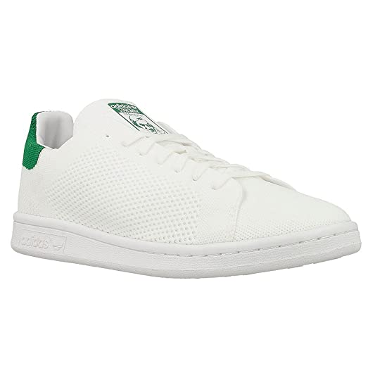 adidas originali stan smith pk j bianco / verde primeknit