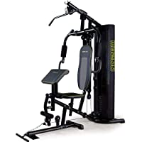Proflex M8200 Multifunction Home Gym Multistation Exercise Equipment with 128lbs Plates