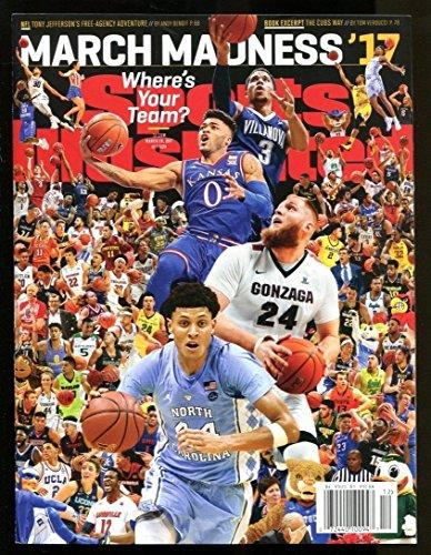March Madness 2017 Sports Illustrated No Label Newsstand UNC Gonzaga Villanova