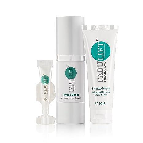 fabulift Hydra Boost Suero, rostro y ojos ampolla 3 Pack (2 x 30 ml