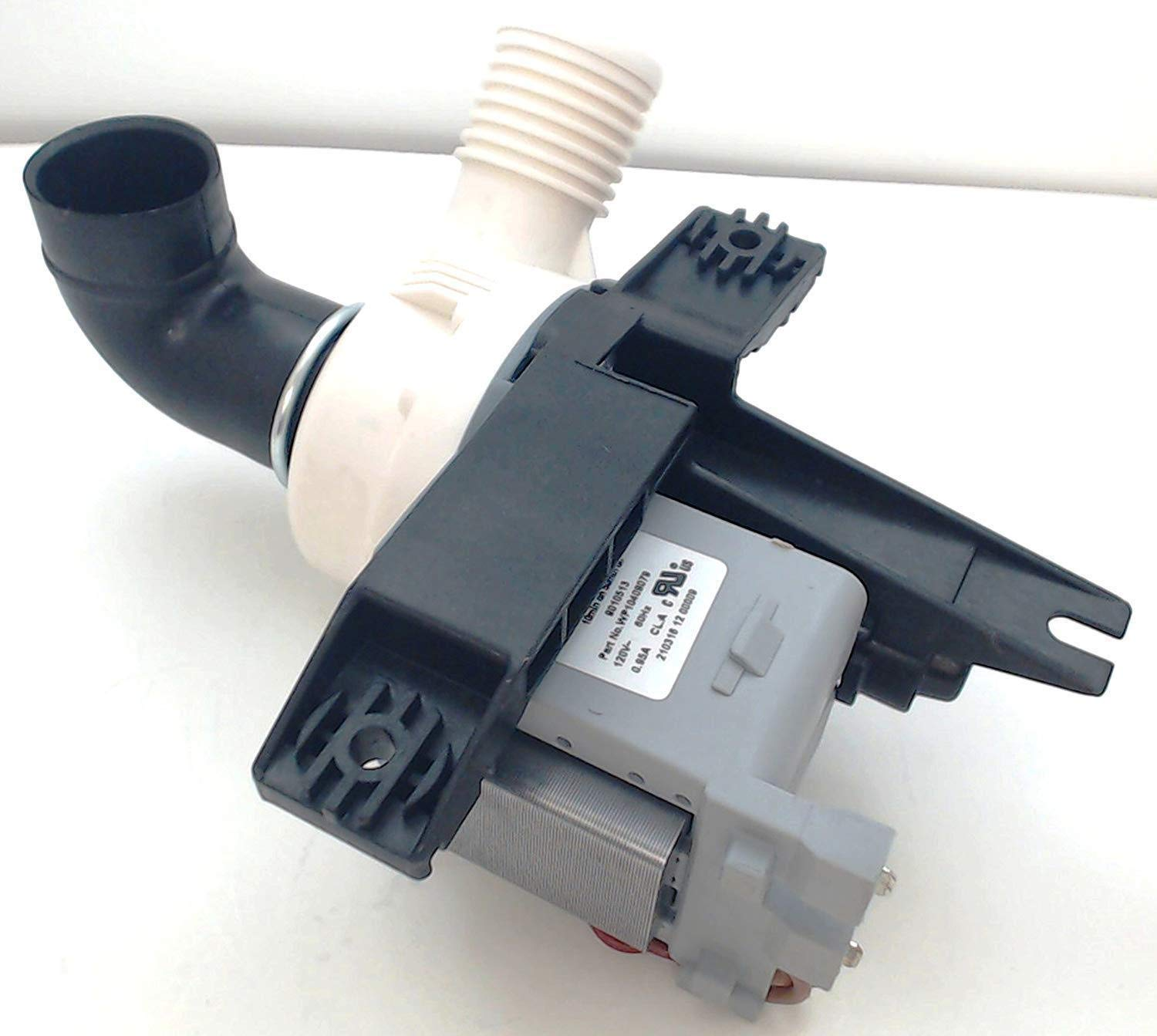 NEW Compatible Replacement Pump for Whirlpool Maytag Kenmore W10409079, WPW10409079, PS11754363, AP6021043, by Primeco - 1 YEAR WARRANTY