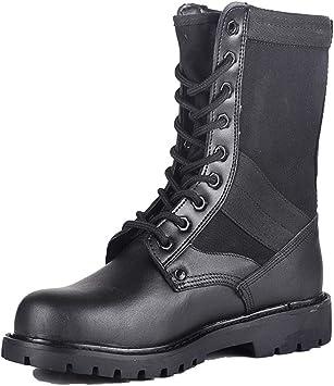 MERRYHE Botas Militares para Hombres, Botas de Combate en el ...