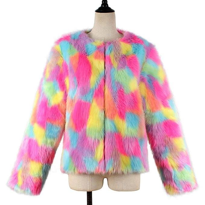 Amazon.com: Women Fluffy Coat Winter Warm Jacket Cardigan Long Sleeve Outerwear Tops Outwear: Clothing