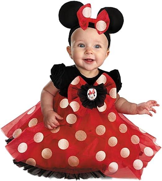 Disney Niños bebé niña Minnie Mouse Mickey Ratón Disfraz Carnaval ...