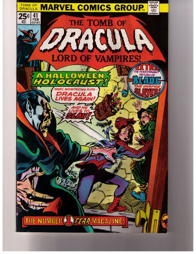Stan Lee Presents: The Tomb of Dracula Lord of Vampires! No. 41 Feb 1976 (A Halloween Holocaust!, Vol. 1)