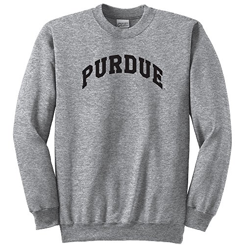 (Campus Merchandise NCAA Purdue Boilermakers Youth Crewneck Sweatshirt, Large, Athletic Heather)