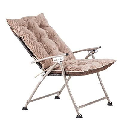 Amazon.com: GWDJ Lounger Deck Chairs Household Simple Space ...