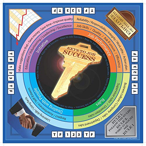 Keys to Job Success Board Game