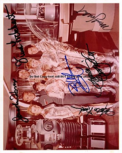 Lost-in-space Autographed Preprint Signed Photo