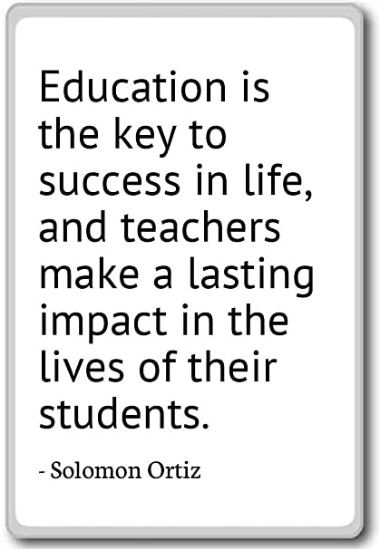 education is the key to success quotes