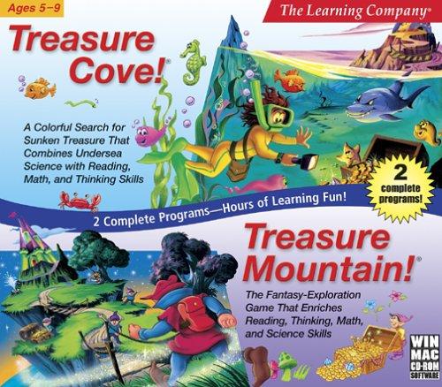 Treasure Cove and Mountain (Jewel Case) - PC (Cove Window)