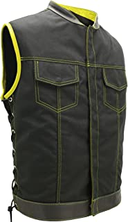 product image for SOA Style Side LACE (Cordura - Military Grade Fabric) Black/Yellow