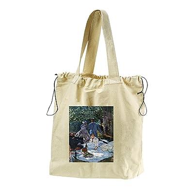 50%OFF The Garden Of The Infanta (Monet) Canvas Drawstring Beach Tote Bag