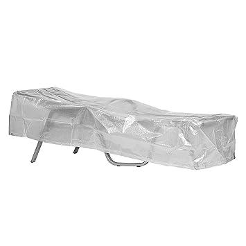 Klassik Schutzhülle Für Sonnenliege/Gartenliege Aus PE Bändchengewebe    Transparent   Von U0027mehr