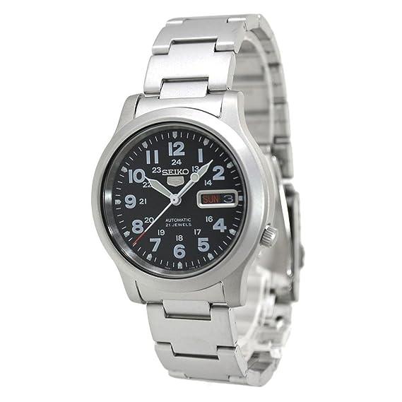Seiko - 5 Gent - SNKN25K1 - Analógico Automático Hombre: Amazon.es: Relojes