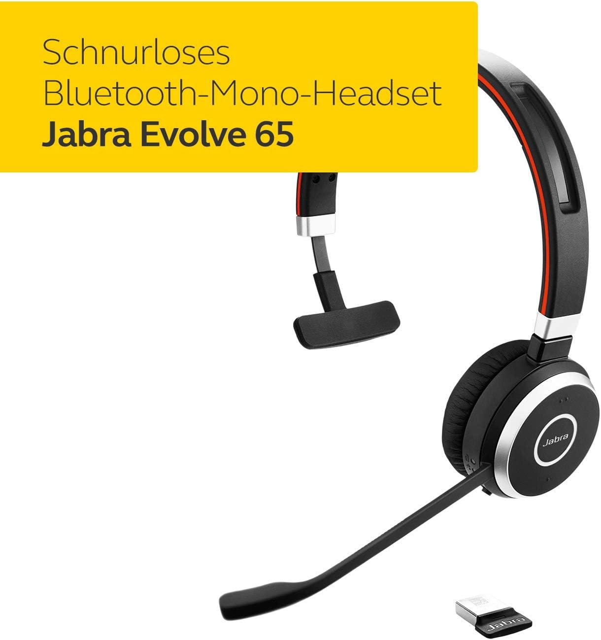 Jabra Evolve 65 Wireless Mono On Ear Headset Unified Elektronik