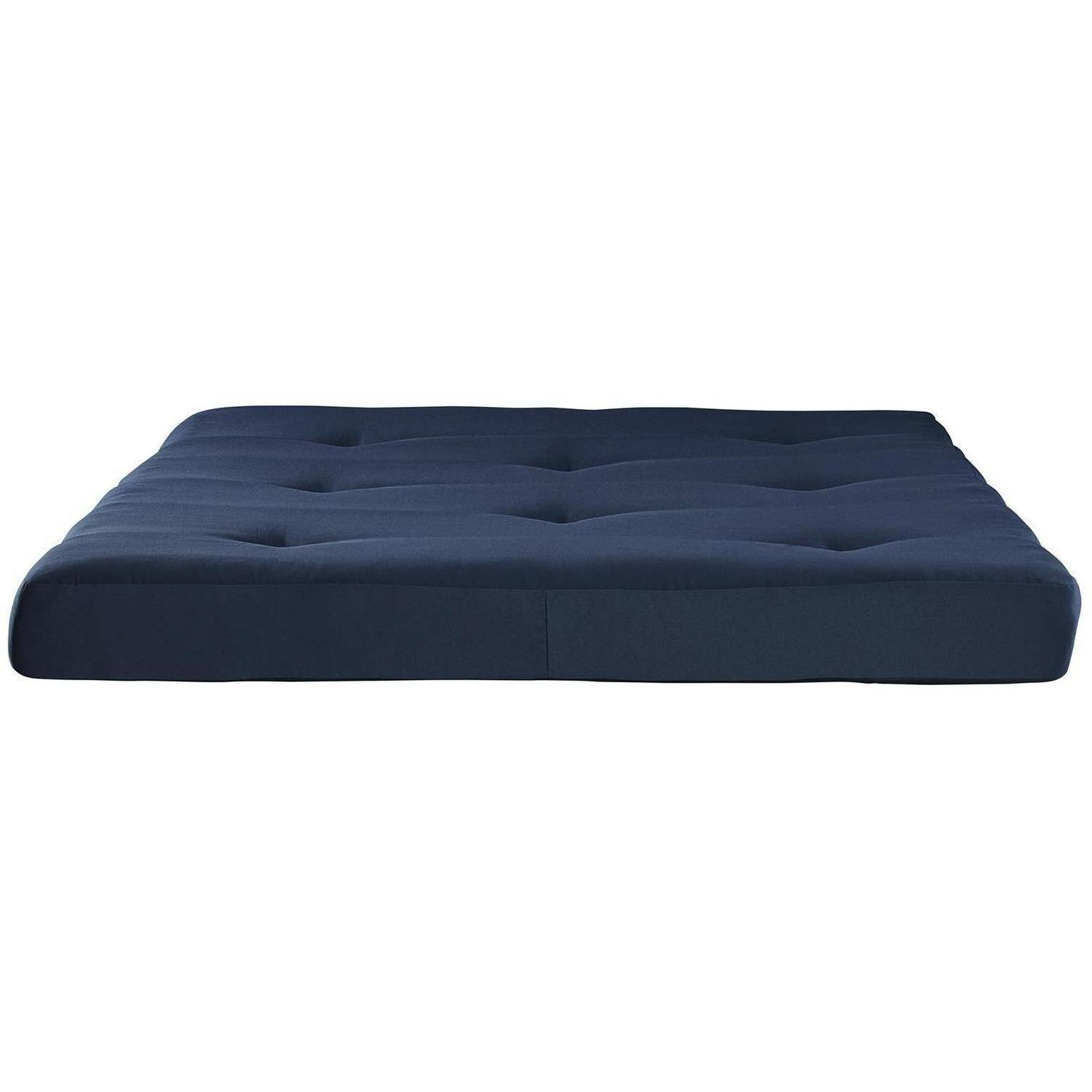 Mainstays 6'' Tufted Futon Mattress ONLY- Blue by La Rosticceria