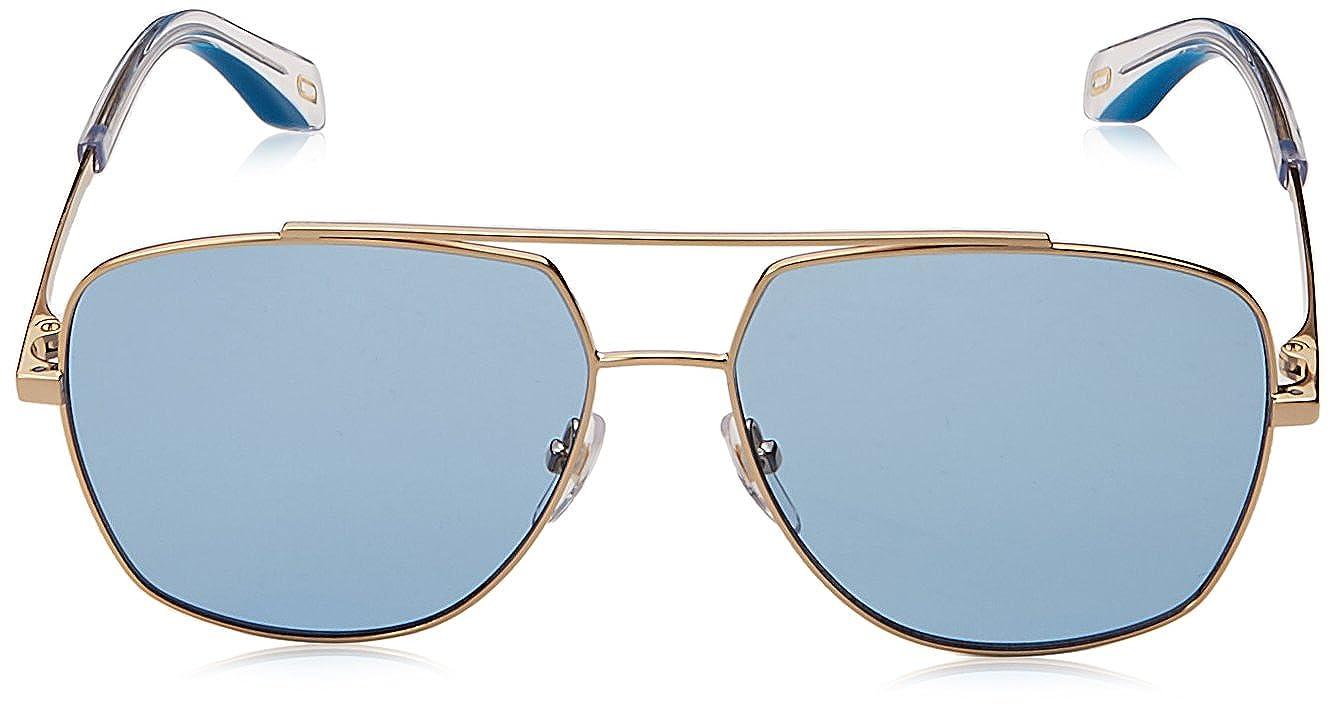 db943d081d05e Marc Jacobs Lunettes de Soleil MARC 271 S GOLD BLUE homme  Amazon.fr   Vêtements et accessoires