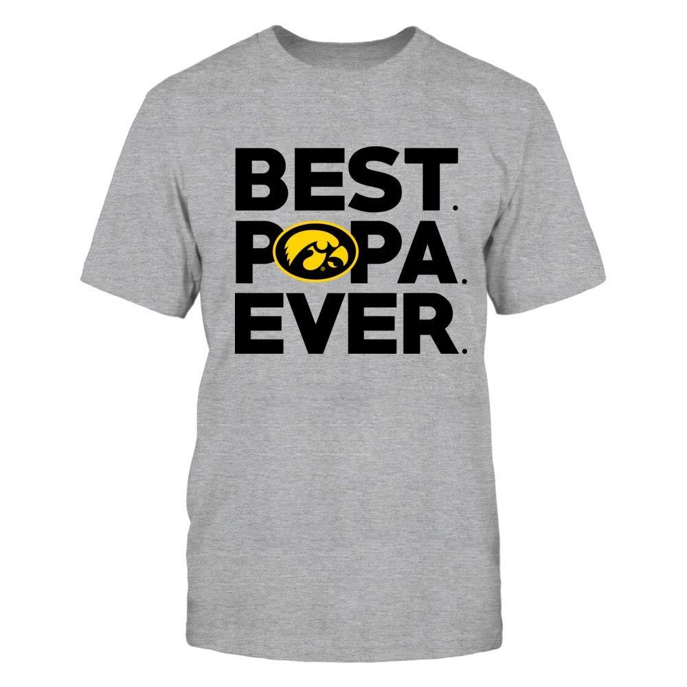 Iowa Hawkeyes T Shirt Best Papa Evershirt