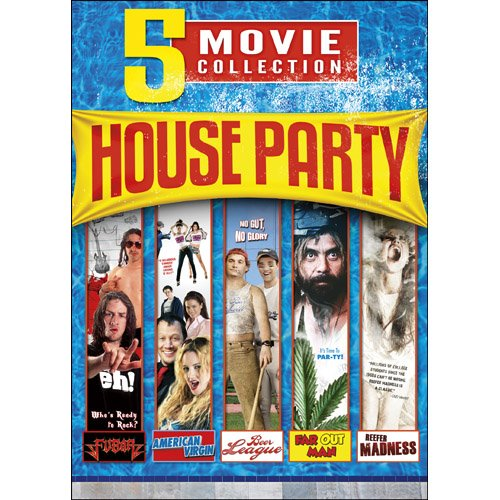 - 5-Movie House Party Collection: Fubar / Reefer Madness / Far Out Man / American Virgin / Artie Lange's Beer League