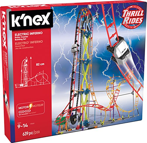 K Nex Thrill Rides Electric Inferno Roller Coaster