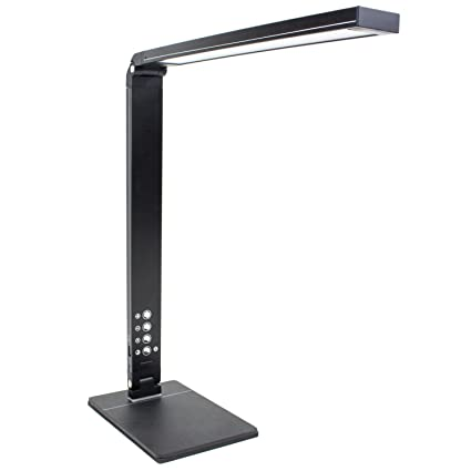 Newhouse LIghting 10W Modern LED Adjustable Desk Lamp With Color  Temperature Change, Dimming And USB