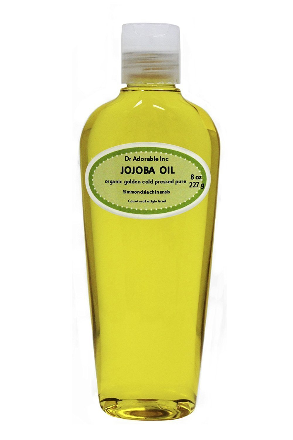 Jojoba Oil Golden Organic 100% Pure By Dr.Adorable 8 oz