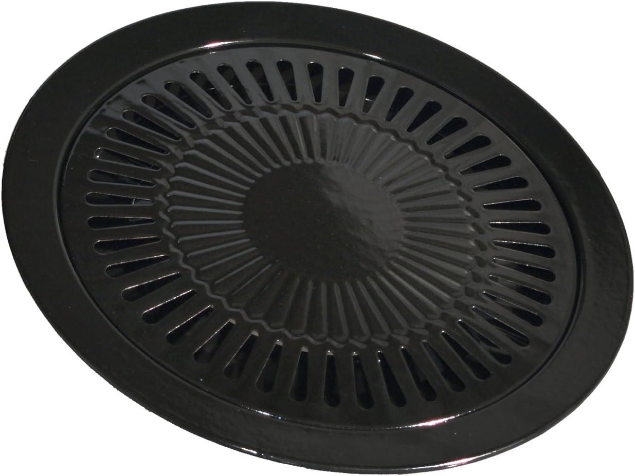Parrilla para hornillo portátil de gas de Ø32cm, plancha de barbacoa para hornillo de gas