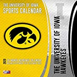 Iowa Hawkeyes: 2020 12x12 Team Wall Calendar