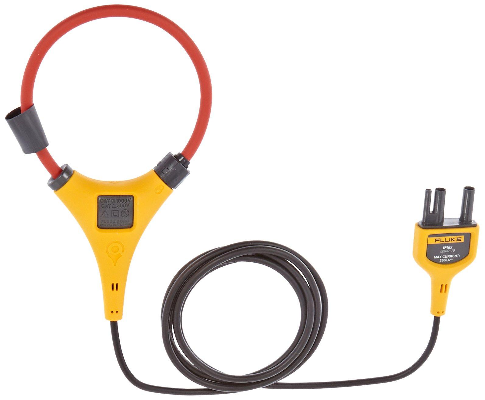 Fluke I2500-10 IFlex Flexible Current Probe, 2500A Current, 0.1A Resolution, 10'' Size